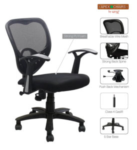 SAVYA office Chairs- Cheapest & Affordable