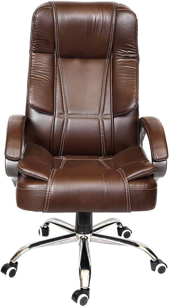 Rose designer ergonomic leather chair in india