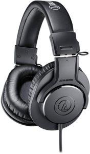 1 Audio-Technica ATH-M20x best Over-Ear Professional Studio Monitor Headphones