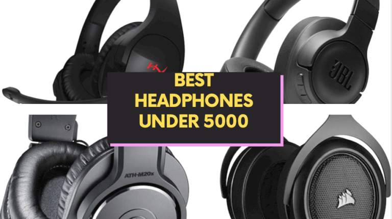 BEST HEADPHONES UNDER 5000 wired and wireless
