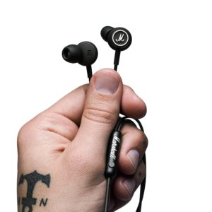 8. Marshall in-Ear Headphones with Microphone and remote
