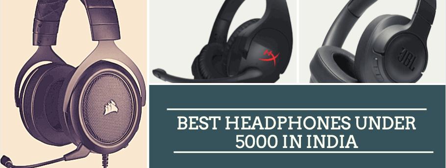 BEST HEADPHONES UNDER 5000 wired and wireless