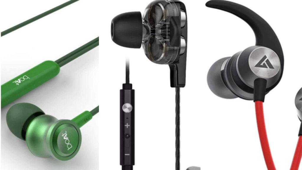 Best Earphones Under 500 (Wireless + Wired) headphones